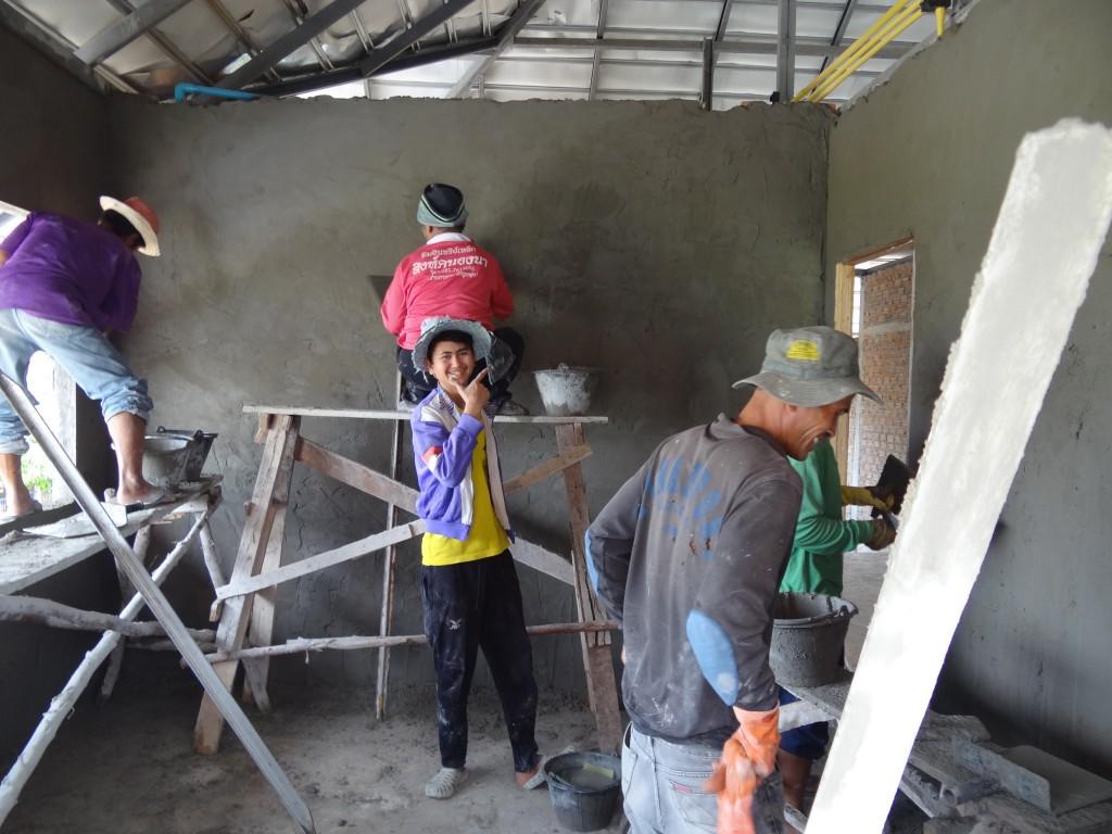 3 Teams arbeiten in einem Raum :-)