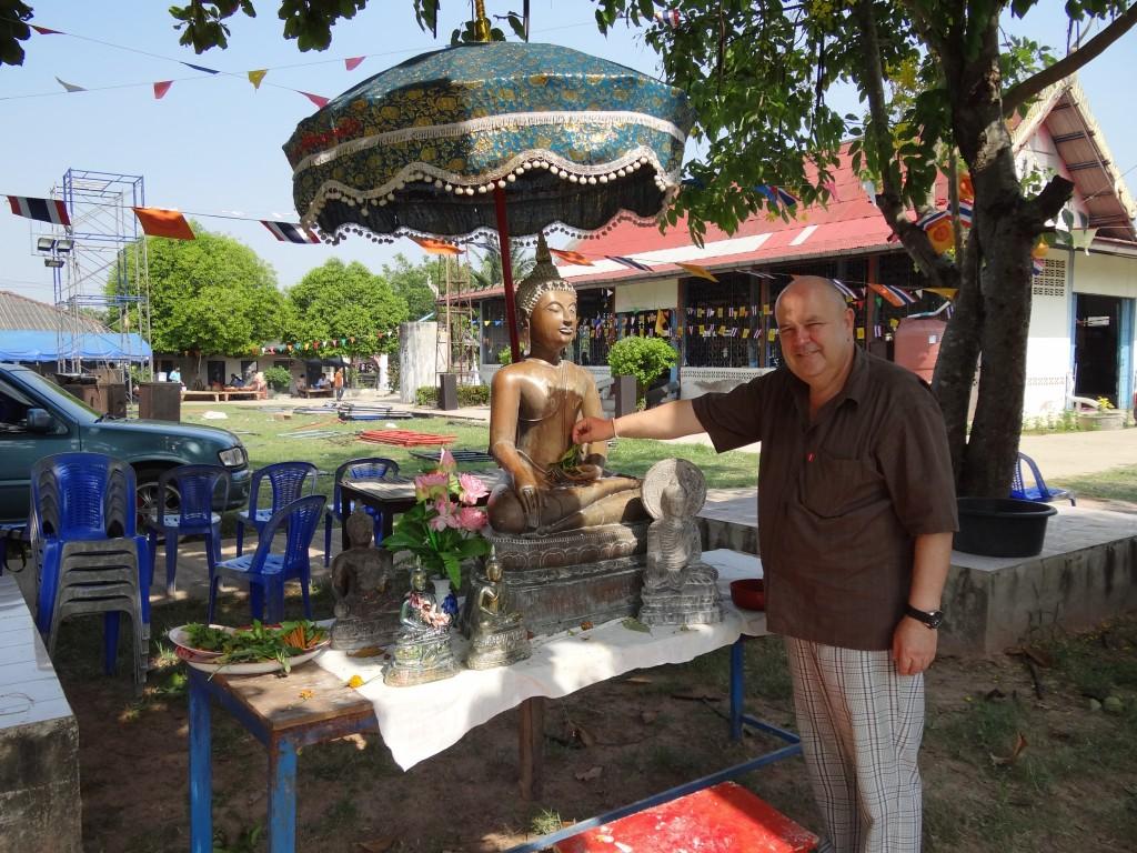 Auch das gehört zu Songkran
